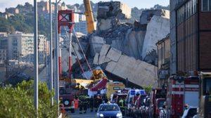 ชาวอิตาลี ร้องบริษัทซ่อมบำรุงรับผิดชอบ ปมสะพานแขวนยุบตัว