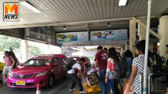 เช้านี้ ประชาชนยังเดินทางเข้า กทม. ต่อเนื่อง หมอชิตแน่นแท็กซี่ไม่พอ