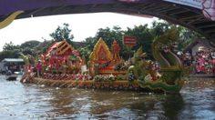 เที่ยวงานประเพณีรับบัว บางพลี ประจำปี 2557