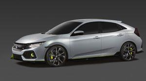 หลุดมาอีกแล้ว New Honda Civic Hatchback ตัวใหม่