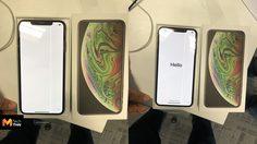 หนุ่มออสซี่ดวงซวย ซื้อ iPhone Xs Max เปิดเครื่องมาเจอปัญหาหน้าจอมีขีดสีเขียว