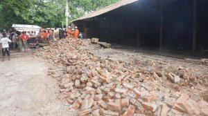 'ถิ่น จอ' ผู้นำพม่า ลงพื้นที่แผ่นดินไหว-เจดีย์พัง ย้ำซ่อมให้เหมือนเดิม