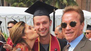 เรียนจบแล้ว แพทริก ลูกชายสุดหล่อ อาร์โนลด์ ชวาร์เซเน็กเกอร์