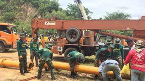 กองทัพยัน พร้อมระดมกำลังพลและยุทโธปกรณ์เพิ่ม ช่วยชาวเพชรบุรี