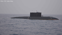 พม่ารับมอบเรือดำน้ำลำแรกจากอินเดียแล้ว