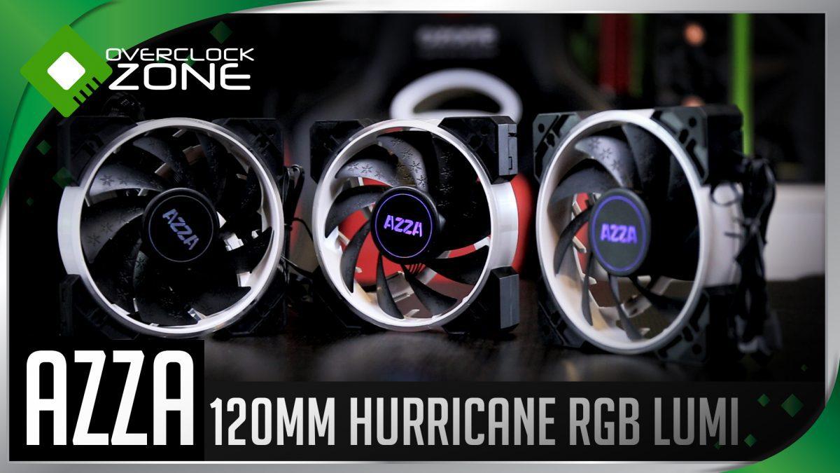 รีวิว AZZA Hurricane RGB LUMI  : ชุดพัดลม RGB x3 ควบคุมผ่านแอพมือถือได้