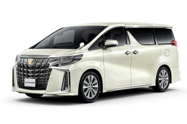 Toyota Alphard S Style Gold