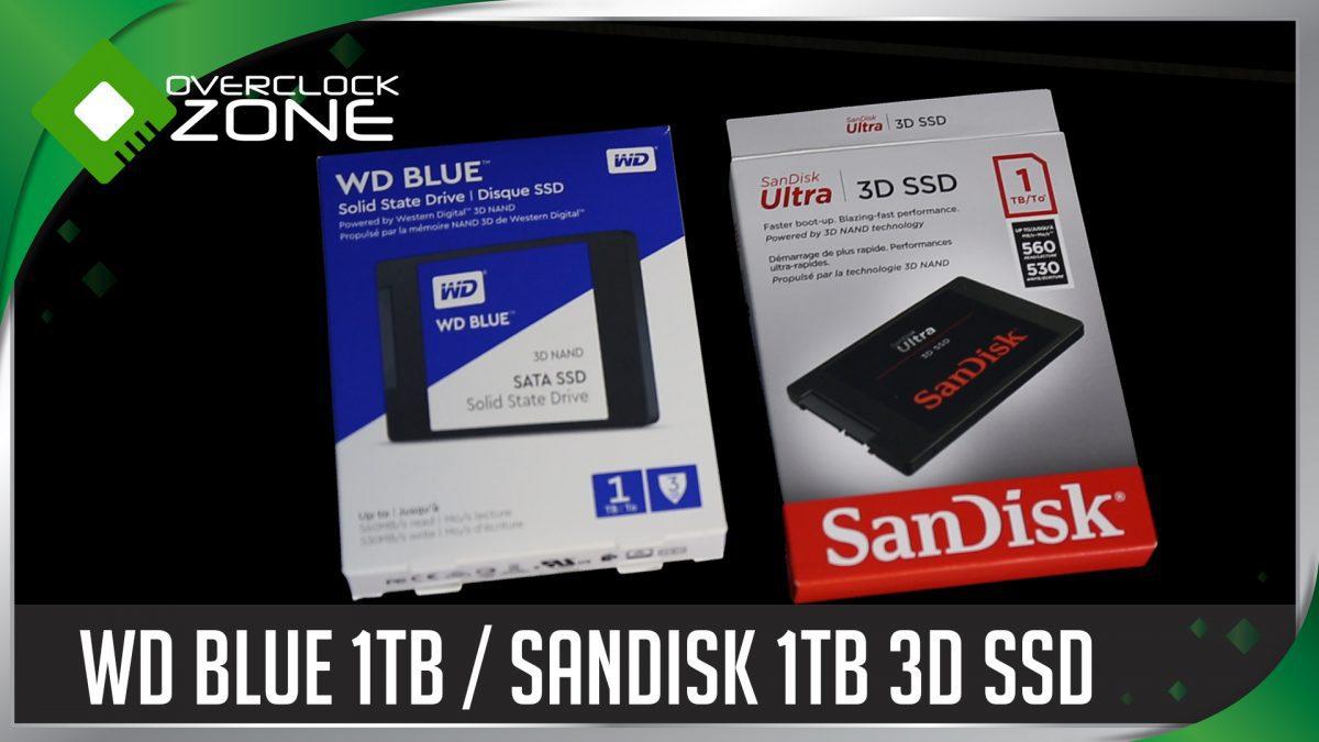 รีวิว 3D NAND SSD : SanDisk Ultra 3D 1TB vs WD Blue 3D NAND 1TB