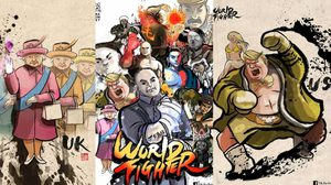 Super World Fighter เกมต่อสู้ผู้นำโลก ดัดแปลงจากผู้นำสู่ภาพวาดสุดเจ๋ง