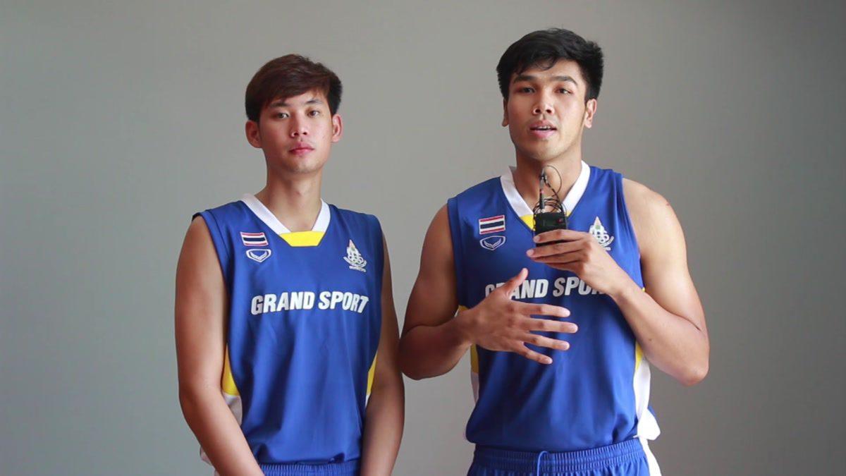 เปิดใจ...บิ๊ก ธีรวัฒน์,ต้น นราธิป นักกีฬาบาสเกตบอลทีม THAI ALL STAR สู้ศึก TBA