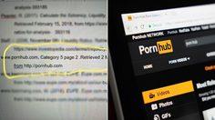 ห้าวมาก! นักศึกษาใช้เว็บ Pornhub เป็นบรรณานุกรม สำหรับรายงานส่งอาจารย์