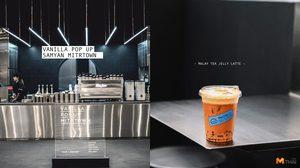 คาเฟ่ชื่อหวานแต่มาดเท่ Vanilla Pop.up Mitrtown สาขาใหม่ล่าสุดที่สามย่านมิตรทาวน์