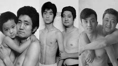 พ่อลูกถ่ายรูปคู่กัน ตลอด 26 ปี ความเปลี่ยนแปลงที่น่ารักของครอบครัวนี้