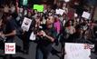 ประท้วงเรื่องตำรวจยิงผู้ต้องสงสัยผิวสีในสหรัฐฯ