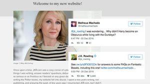 เจ.เค. โรว์ลิง เปิดหน้าเว็บไซต์ใหม่! พร้อมไล่ตอบคำถามจาก Fantastic Beasts