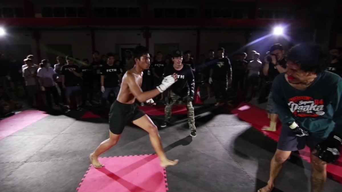 FIGHT CLUB THAILAND มังกรเดือด เบ็ญซอมบี้บอย x กร คู่ที่ 235