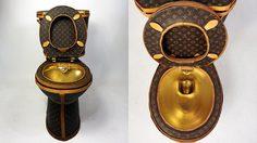 จะมีใครกล้านั่งมั้ย? ส้วมทองคำจาก Louis Vuitton เปิดตัวที่ราคา….สามล้านบาท!!!