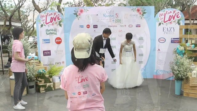 คลิป Running of the Brides in Bangkok 2017