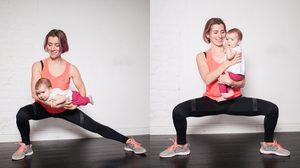 7 ท่าออกกำลังกาย สำหรับคุณแม่ลูกอ่อน เรียกหุ่นเฟิร์ม เล่นกับลูกไปด้วยก็ได้