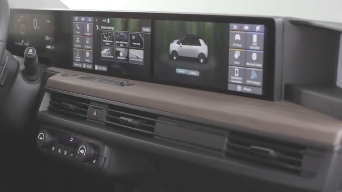 2020 Honda e infotainment technoligy