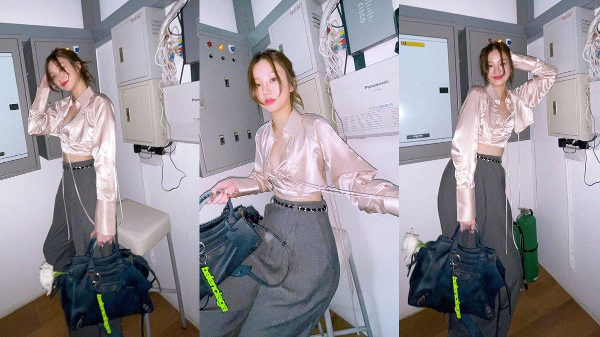 ต้าเหนิง กัญญาวีร์ ในชุดเสื้อครอป เปรี้ยวเก๋ มีสไตล์