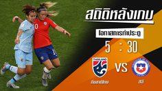 สถิติหลังเกม : ทีมชาติไทย vs ชิลี !! (20 มิ.ย. 62)