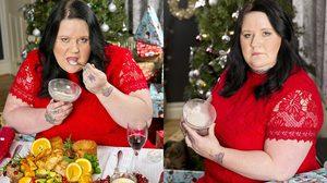 สาวอังกฤษกิน อัฐ ของคุณแม่ที่เสียชีวิตไปแล้วกับอาหารค่ำช่วงวันคริสต์มาส