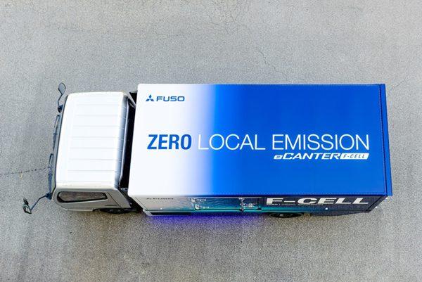 Mitsubishi FUSO eCanter F-Cell