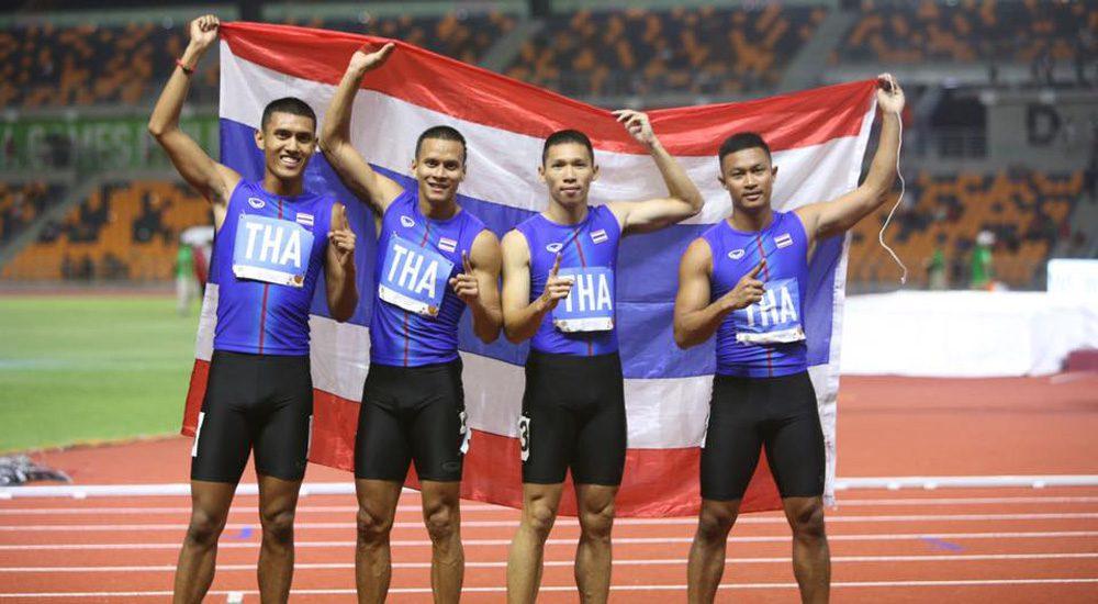 วิ่งผลัด ทีมชาติไทย คว้าทองทั้งชาย-หญิง, ทีมกรีฑาซิวเหรียญเพียบ ซีเกมส์ 2019