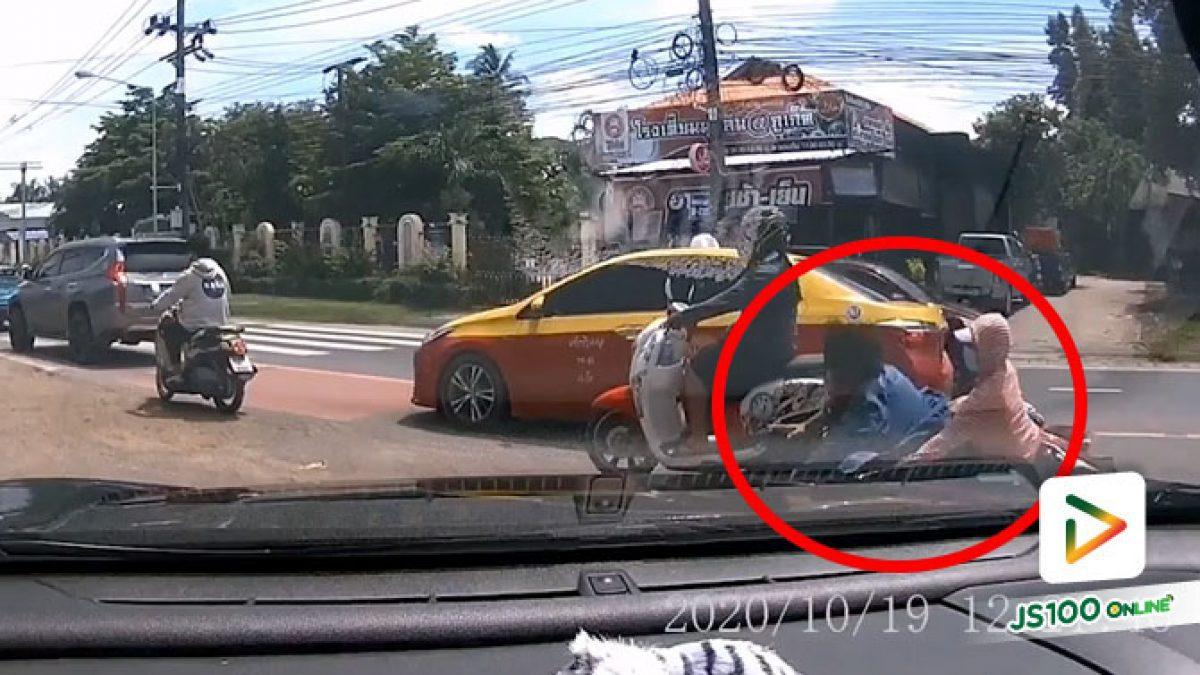 จู่ๆ ล้มกลิ้ง แบบนี้ผิดที่ถนนหรือผู้ขับขี่ไม่ระวัง?!
