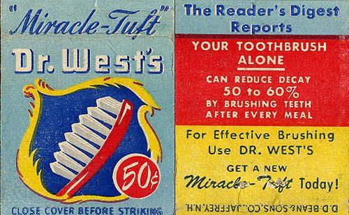 วิวัฒนาการแปรงสีฟัน อดีต-ปัจจุบัน