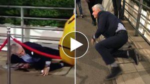 แทบมุดแผ่นดินหนี!! เปิดคลิป น้ามู ตะครุบกบต่อหน้าแฟนบอลที่สนาม เวมบลีย์