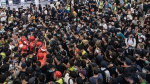 นักเรียนฮ่องกงพร้อมใจโดดเรียนร่วมประท้วง