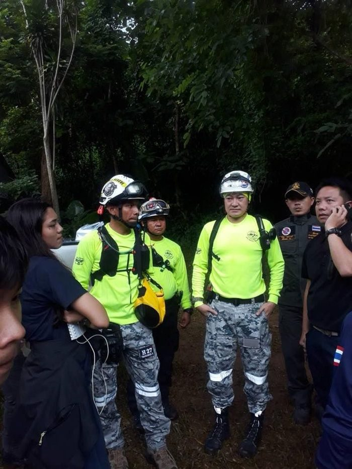ภารกิจช่วย 13 หมูป่า ติดถ้ำหลวงขุนน้ำนางนอน จ.เชียงราย