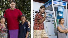 ปิดตำนาน น้องมาลี หญิงไทยสูง 214 ซม.เสียชีวิตแล้ว