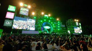 เอเชียทีค เคานต์ดาวน์ริมแม่น้ำเจ้าพระยาในงาน ASIATIQUE Thailand Countdown 2020