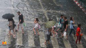 อุตุฯเตือน ฉ.1 ฝนตกหนักภาคกลาง ตะวันออก ใต้ กระทบ 20-22 ต.ค.นี้