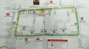 แจ้งปิดถนน 4 เส้นทาง วัดแขก สีลม จัดงานแห่พระแม่อุมาเทวี 2560
