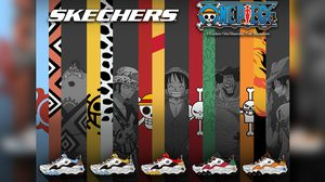 SKECHERS D-Lites x One Piece เผยโฉม 5 คาแรกเตอร์ พร้อมวางจำหน่ายในเมืองไทย