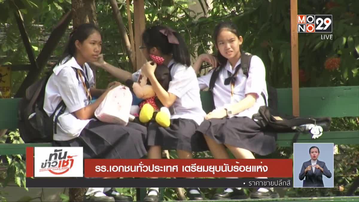 The Morning - นนทกฤชเจาะข่าวเช้า : เรียบร้อยโรงเรียนเอกชน