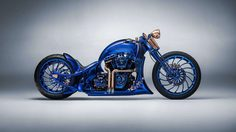 Harley-Davidson Blue Edition ขึ้นแท่นรถมอเตอร์ไซค์ราคาแพงที่สุดในโลก