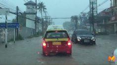 ฤทธิ์ฝนถล่ม!! 'เกาะสมุย' น้ำท่วมรถยนต์จมน้ำหลายคัน
