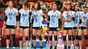 ประมวลภาพ วอลเลย์บอลหญิงไทย พ่าย บราซิล นัดเปิด เวิร์ล กรังปรีซ์ 2016 ที่ประเทศไทย