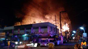 ไฟไหม้!! ตลาดภาชีวอด 14 หลัง เสียหายกว่า 20 ล้านบาท