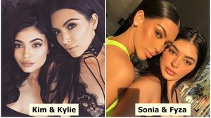 เฮ้ย! โคลนนิ่งมาเลยเหรอ สองพี่น้องจากดูไบ หน้าเหมือน Kim และ Kylie สุดๆ