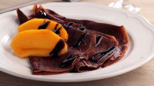 วิธีทำ เครปช็อกโกแลต แป้งเค้กหอมกลิ่นโกโก้