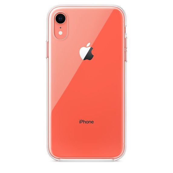 Clear Case iPhone XR