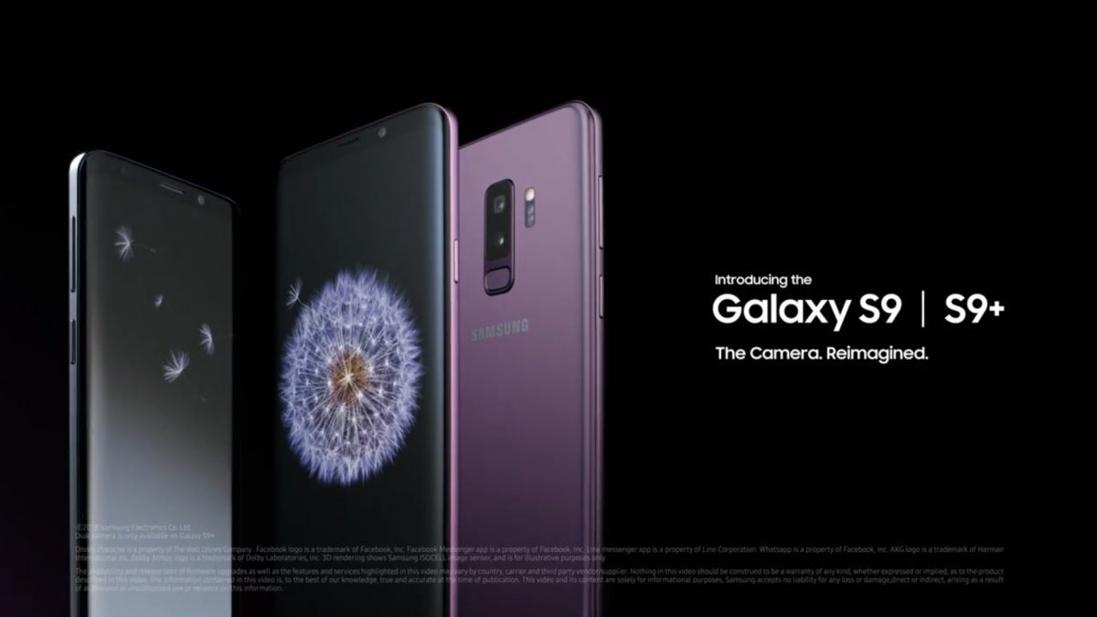 Samsung Galaxy S9 / S9+ การปฏิวัติกล้องที่ฉลาดเหมือนดวงตาของมนุษย์!!