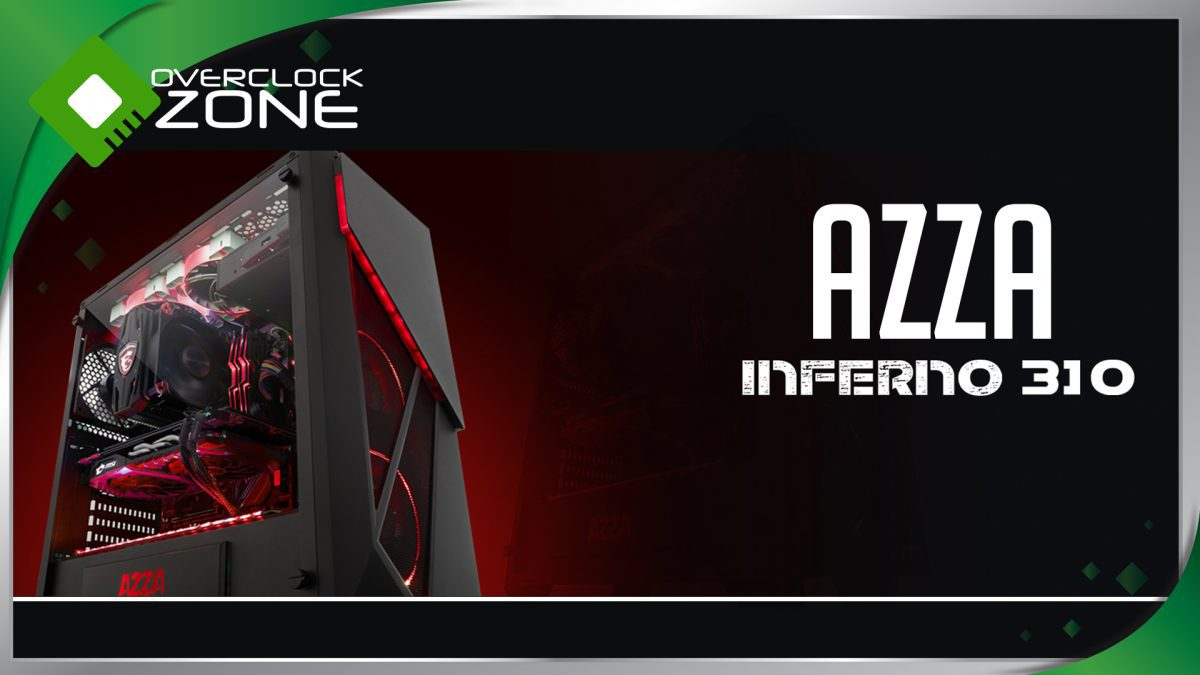 รีวิว AZZA Inferno 310 : Tempered Glass RGB Chassis