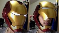 Iron man hemlet scale 1:1 (wear test with face up-down) By Tong KLOmdiK